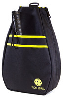 40 Love Courture Ladies Pickleball Backpacks - Black/Yellow Lining