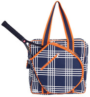 Ame & Lulu Ladies Icon Tennis Bags - Abbey Plaid