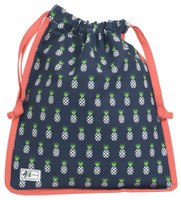 Ame & Lulu Ladies Raleigh Shoe Bags - Pineapple