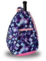 NTB Ladies Tennis Backpack - Bianca (Pink & Purple Bubbles)