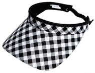 Glove It Ladies Print Tennis Visors - Checkmate