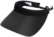 Glove It Ladies Print Tennis Visors - Black Mesh
