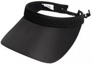 Glove It Ladies Print Tennis Visors - Black Mesh