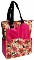 Glove It Ladies Tennis Tote Bags - Sangria (Pink Multi)