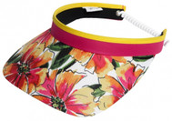 Glove It Ladies Print Tennis Visors - Sangria