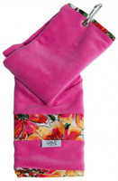 Glove It Ladies Tennis Towels - Sangria