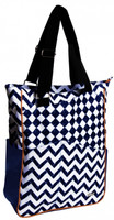 Glove It Ladies Tennis Tote Bags - Coastal Tile