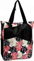 Glove It Ladies Tennis Tote Bags - Coral Reef (Pink & Black)