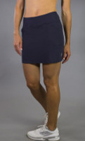 JoFit Ladies & Plus Size Mina (Short) Tennis Skorts - Sangria (Midnight)