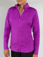 JoFit Ladies & Plus Size Nexus Fitness Jackets - Sangria (Lotus)