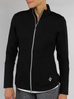 JoFit Ladies Vitality Fitness Jackets - Sangria (Black)