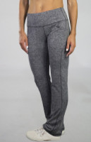 """JoFit Ladies Live In 31.5"""" Pull On Fitness Pants - Sangria (Carbon)"""