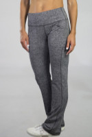 """JoFit Ladies Live In 34"""" Pull On Fitness Pants - Sangria (Carbon)"""