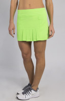 JoFit Ladies & Plus Size Dash (Short) Tennis Skorts - Mai Tai (Honeydew)