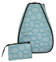 40 Love Courture Ladies Betsy Tennis Backpacks - Racquets with Black Lining