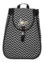 40 Love Courture Ladies Maddie Tennis Backpacks - Chevron with Black Lining