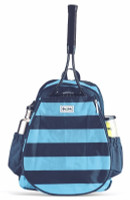 Ame & Lulu Ladies Game On Tennis Backpacks - Salty