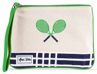 Ame & Lulu Ladies Lovers Tennis Wristlets - Parker Plaid