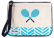 Ame & Lulu Ladies Lovers Tennis Wristlets - Surf