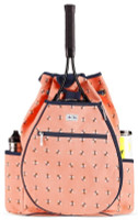 Ame & Lulu Ladies Kingsley Tennis Backpacks - Bees Knees