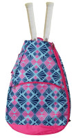 All For Color Ladies Tennis Backpacks - Summer Rays (Pink & Navy)