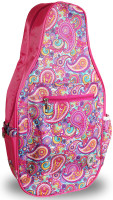 NTB Ladies Pickleball Bags - Ainsley (Pink Paisley)