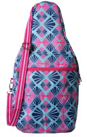 All For Color Ladies Pickleball Bags - Summer Rays (Pink & Navy)
