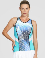 Tail Ladies & Plus Size Oneida Sleeveless Tennis Tank Tops - VELOCITY (Velocity Print)
