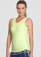 Tail Ladies & Plus Size Ashton Sleeveless Tennis Tank Tops - BRIGHT LIGHTS (Citrine)