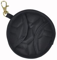 Cinda B Tennis Ball Clip Pouch - Jet Set Black