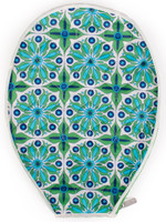 Cinda B Tennis Racquet Cover - Verde Bonita