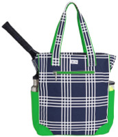 Ame & Lulu Ladies Emerson Tennis Tote Bags - Parker Plaid
