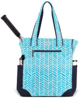 Ame & Lulu Ladies Emerson Tennis Tote Bags - Surf