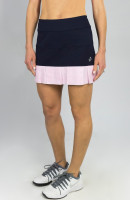 "JoFit Ladies & Plus Size Pearl 14.5"" Tennis Skorts - BELLINI (Midnight Navy)"