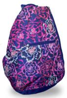 NTB Ladies Tennis Backpack - Nala (Navy Floral)