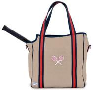 Ame & Lulu Ladies Vintage Sport Tennis Tote Bags - Chester