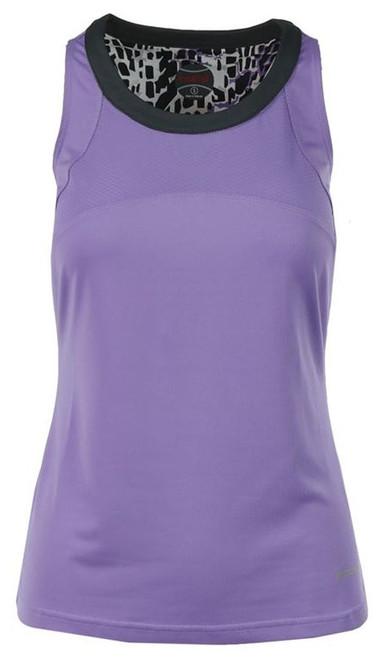 CLEARANCE Bolle Ladies Gianna Sleeveless Tennis Tank Tops - Lilac