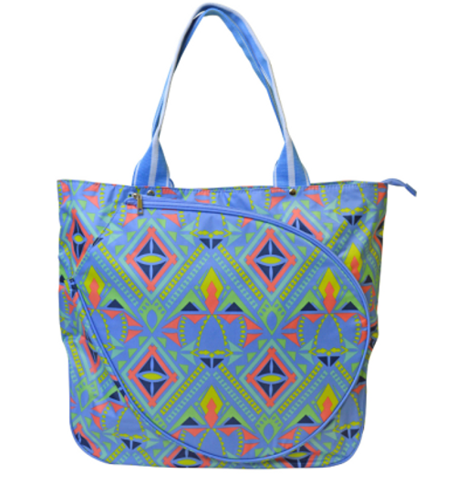 All For Color Ladies Tennis Tote Bags - Electric Pop