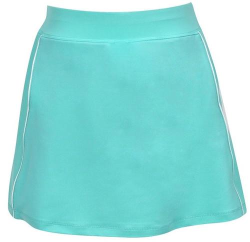 Turtles & Tees Junior Girls Tara Knit Pull On Tennis Skorts - Jade