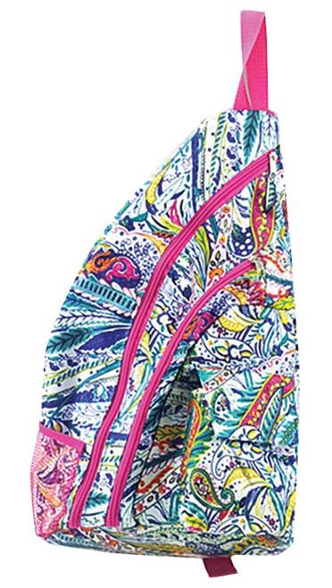 Mayva K Collection Ladies Sling Pickleball Backpacks - Assorted Patterns
