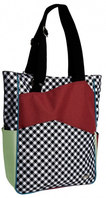 Glove It Ladies Tennis Tote Bags - Checkmate