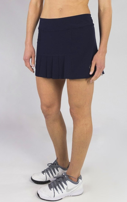 JoFit Ladies & Plus Size Dash (Short) Tennis Skorts - BELLINI (Midnight Navy)