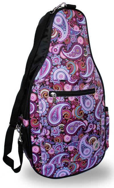 NTB Ladies Pickleball Bags - Brynn (Black Paisley)