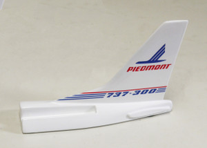 PIEDMONT B737-300 Tail Card Holder