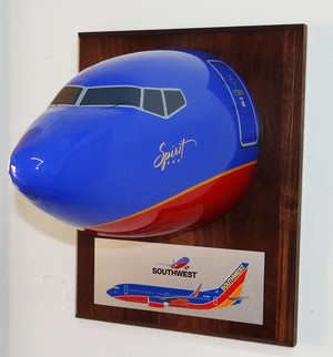 Southwest Spirit B-737 Nose