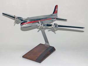 Swissair DC-4 Chrome
