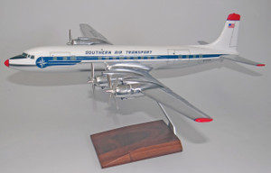 Southern Air SAT DC-7C (Chrome)