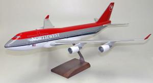 Northwest B747-400 Bowling shoe