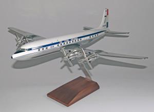 KLM DC-7-C Chrome