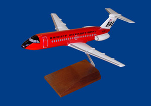 Braniff BAC-1-11 Red